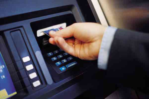 Credit cards in ATMs