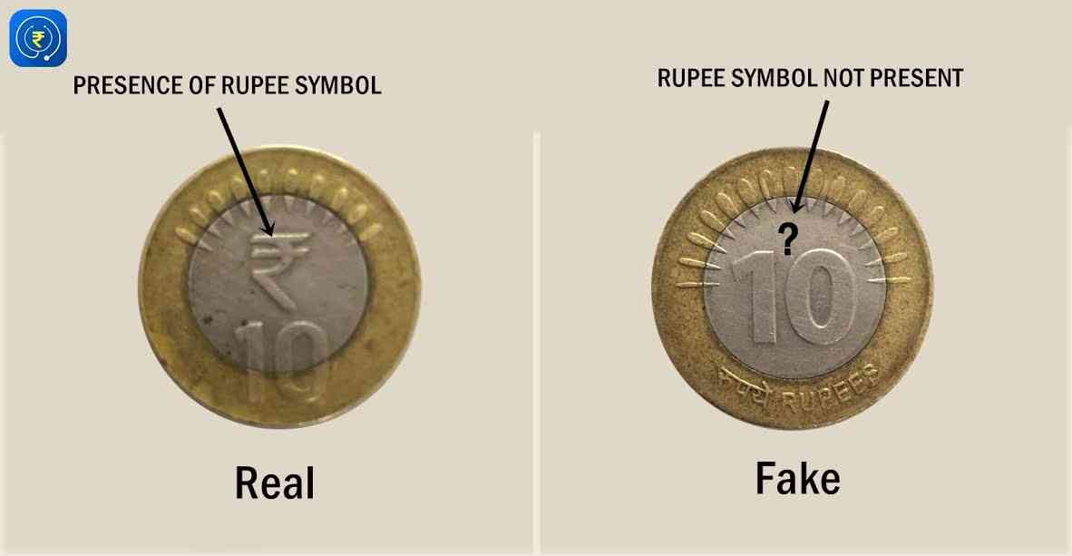 How to check 10 rs coin