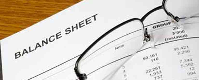 Financial Statements - Balance Sheet