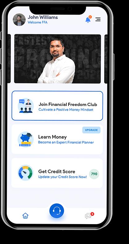 FFC App home